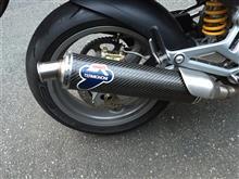 MONSTER400 (モンスター)テルミニョーニ S/O マフラーの単体画像