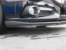 レガシィツーリングワゴンSTI フロントアンダースポイラー&スカートリップの全体画像