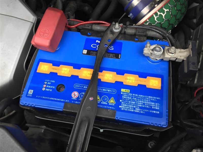 Panasonic Blue Battery caos N-125D26L/C5