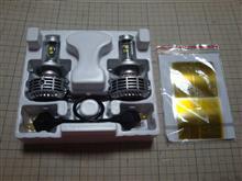 MT-09不明 LED ヘッドランプ H4の単体画像