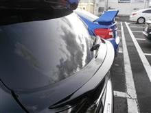 レガシィツーリングワゴンTAIWANyarou  トランクスポイラーの単体画像