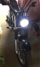 絶版e-auto fun e-auto fun バイク用LEDヘッドライト Hi/Lo切り替えタイプ ホワイト 12W 800Lm BH412WWの単体画像