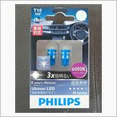 PHILIPS Ultinon LED 6000K T10 360°