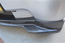 i-MiEVダイヤモンドテクニック アイ・アイミーヴ用フロントハーフスポイラー/カーボンの単体画像