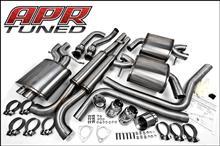 S4 アバント (ワゴン)APR / Audi Performance Racing フルエキゾーストシステムの全体画像