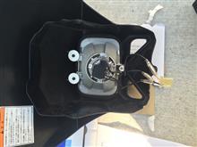 DR-Z400SMXT250 ヘッドライト移植の単体画像
