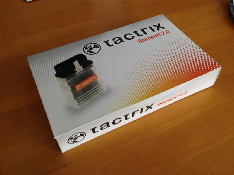 how to use tactrix openport 2.0