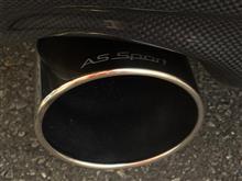 A5 スポーツバックAs sport ディクリートシリーズマフラーの単体画像