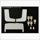 SAMURAI PRODUCE 新型 プリウス 50系 プリウス ルームランプ LEDルームランプ 8点セット 498発 3chip 基盤タイプ おまけ付き