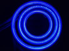 Nボックス+カスタムLEDパラダイス / CCFLパラダイス / ピースコーポレーション 面発光COBイカリング青色の全体画像