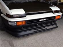 スプリンタートレノトヨタ(純正) AE86 後期トレノ フロントバンパー 純正塗装済み品の全体画像