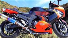 ZZR1400r's gear ソニック チタン・ドラッグブルーの全体画像