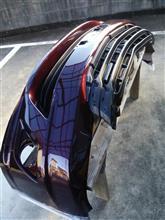 マークXジオトヨタ(純正) エアロツアラーFバンパーの全体画像