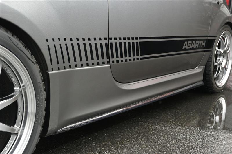 autoplus ABARTH500 サイドステップエクステンション