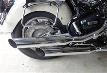 ロイヤルスターDAYTONA(バイク) スラッシュカットスリップオンの全体画像