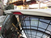 ポルテトヨタ(純正) オプション リヤスポイラーの単体画像