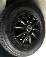 アクティトラックDOALL Argernon Fenice RX1 マットブラックの単体画像