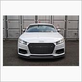 balance it Audi TTS/TT S-line(8S) Front lip spoiler