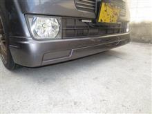 ゼストMUGEN / 無限 フロントアンダースポイラー 再塗装の全体画像