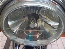ZeaLノーブランド ファンレス一体 バイク用LEDヘッドライトの全体画像