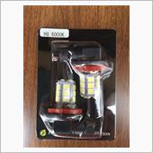 ピカキュウ H8 HYPER SMD 24連LEDフォグ 無極性 LEDカラー:ホワイト6000K