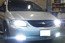 グランドボイジャーSphere Light ヘッドライト LED 6000K(車検対応)& フォグHID5500の単体画像