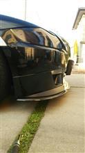 Z4 クーペカーボンリップ ディフューザ BMW E92M用の全体画像