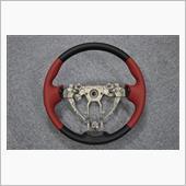 Leather Custom FIRST C26セレナ用純正ステアリングカスタム