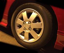 ミラージュ三菱自動車(純正) 純正アルミホイールの単体画像