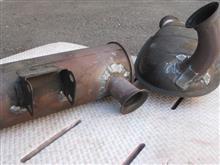 スバル360富士重工業スバル純正改D-SPLS! 太鼓とマフラーの全体画像