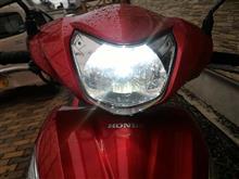 Dio 110 (ディオ110)e-auto fun バイクライト LEDヘッドライト ホワイト 800ルーメン 12W Hi/Lo切り替えタイプの単体画像