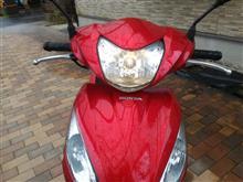 Dio 110 (ディオ110)e-auto fun バイクライト LEDヘッドライト ホワイト 800ルーメン 12W Hi/Lo切り替えタイプの全体画像