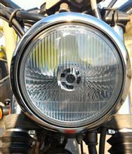 グラストラッカーメーカー・ブランド不明 LEDヘッドライトバルブ(e-auto fun バイクライト ホワイト H4 HS1 2000ルーメン 12V40W DC専用 ×2SMDM440W2LEDH4W)の全体画像