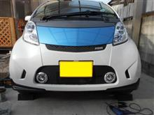 i-MiEV三菱自動車(純正) アイミーブ ROARフロントバンパーの全体画像