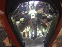 125DukeGTX 雷神の鎚   LEDヘッドライトの単体画像