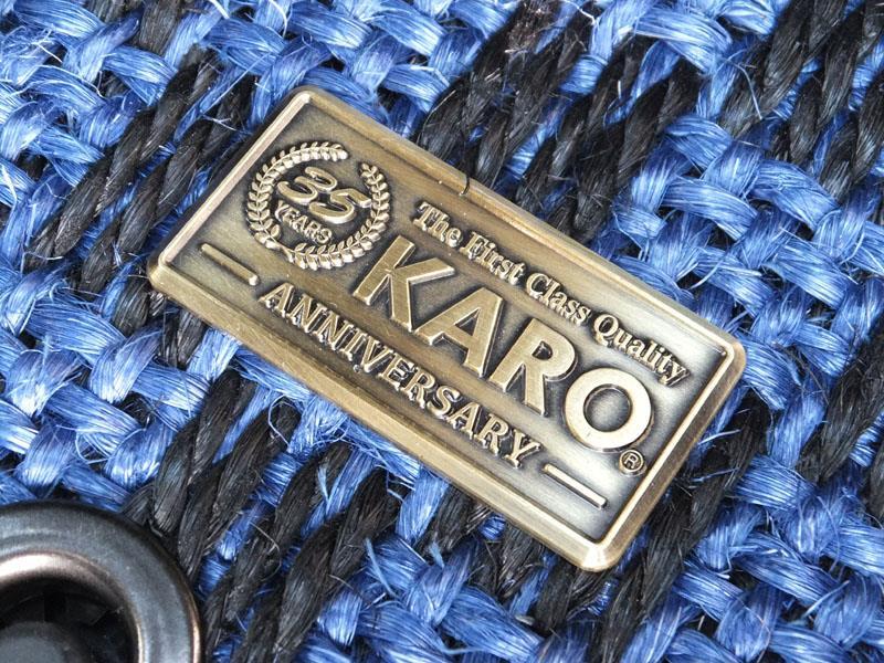 KARO SISAL/シザル SISAL ブルー/ブラック