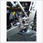 KSR110用Rマスターショップ加工品 リアハンドブレーキ
