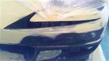 MR-SGPⅡ フロントバンパー(最終形体)の全体画像