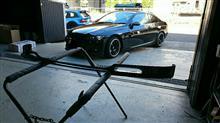 3シリーズ クーペend.cc M-sport フロントリップスポイラーの全体画像