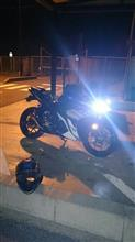 YZF-R3Sphere Light RIGING H7の全体画像