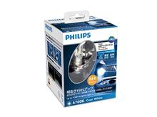ビュートPHILIPS PHILIPS X-treme Ultinon LED H4 ヘッドランプ 6700Kの単体画像