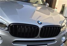 X5プラグインハイブリッドBMW(純正) BMW Performance ブラックキドニーグリルの単体画像