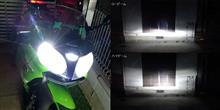 Ninja ZX-9RPHILIPS X-treme Ultinon LED H4 LED Headlight 6200Kの全体画像