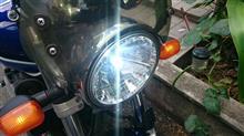 GSX1400TAMIYA LEDヘッドライトKITの全体画像