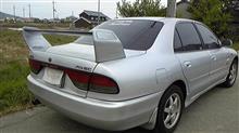ギャラン三菱自動車(純正) ランサーエボリューションⅦ 純正リアスポイラーの単体画像