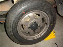 ミニキャブトラック三菱自動車(純正) ブラボー用スチールホイールの全体画像