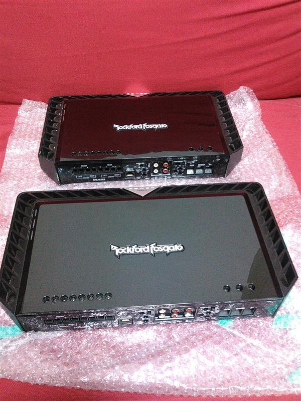 Rockford Fosgate T600-4 & T400-4