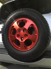 パジェロイオ三菱自動車(純正) 三菱純正アルミホイールの単体画像