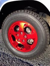 パジェロイオ三菱自動車(純正) 三菱純正アルミホイールの全体画像