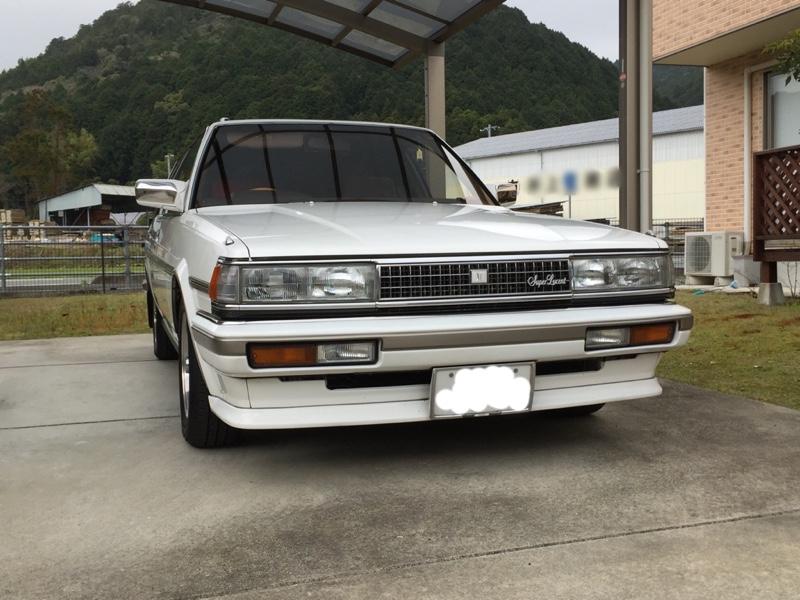 トヨタ純正 GX71後期 クレスタ顔